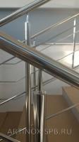 Ограждения лестничных маршей на Объекте - ПС-11010 «Цветной Город» Фото 2