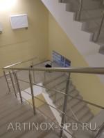 Огр., из нерж., стали лестниц. Суворовское училище. Московский пр (9)