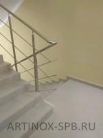Огр., из нерж., стали лестниц. Суворовское училище. Московский пр (10)